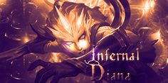 Infernal Diana from League of Legends by ShadowZarc on DeviantArt League Of Legends, Diana, Deviantart, Anime, Movie Posters, Movies, Film Poster, Films, League Legends