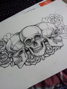 pirate skull old school flash - Google Search