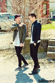Twenty One Pilots photographed on March 22, 2016 at Newport Music Hall in Columbus, Ohio.