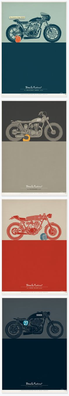 Deus Ex Machina / http://au.deuscustoms.com/shop/posters/?cat=179