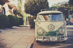 old VW bus. I would so drive this