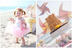 If we go with a beach party this year I love these little pin wheels as gifts for the kids