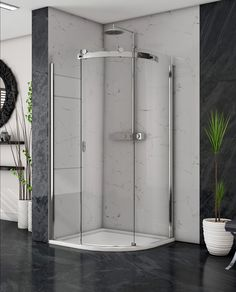Image Showers. high end shower doors.  shower doors . Made in Ireland Guide System, Power Shower, Safety Glass, Shower Doors, Polished Chrome, Showers, Ireland, Image, Shower