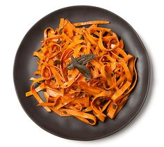 sweet potato linguine-cut butter back to 1 t per serving and you're away!