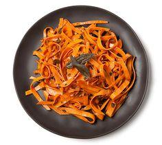 Sweet Potato Pasta | The Healthy Home Economist coconut butter instead