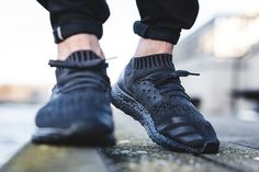"On-Foot: adidas Ultra Boost Uncaged ""Triple Black"""