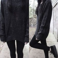 Really love dark fashion its always something I look forward too