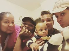 Welcome To Chitoo's Diary.: Uche Jombo, her husband and son shares a photo to ...