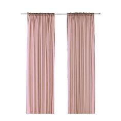 Ikea vivan pink curtains $10 x2