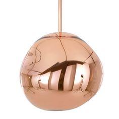 Lámpara colgante TOM DIXON Melt Mini cobre #material #iluminacion #interiorismo #diseño