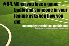 Soccer Player Problems but it never happens...:)