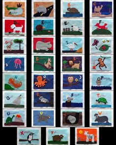 felt animal book pattern
