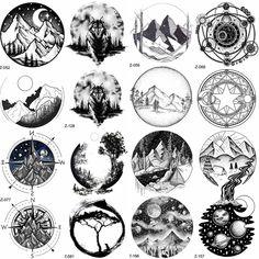 Tatoo 3d, Ufo Tattoo, Tattoo Drawings, Moon Tatto, Glyph Tattoo, Tattoo Pain, Tiny Tattoo, Girl Back Tattoos, Tattoos For Guys