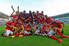 17 maio 2015, V.Guimarães-0/Benfica-2. Benfica garantia o bicampeonato de futebol.