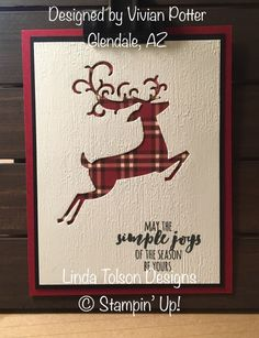 Greetings my stamping friends. We have a new kitten in our house – a birthday present to me from my husband – who we have been trying to train to sleep with us. Christmas Cards 2018, Homemade Christmas Cards, Stampin Up Christmas, Noel Christmas, Xmas Cards, Homemade Cards, Scrapbook Cards, Scrapbooking, Cricut Cards