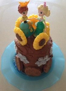 #Frozen #Fever party cake