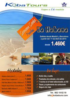La Habana, En Semana Santa 2014.  http://kobatours.com/viajes/cuba/la-habana-1