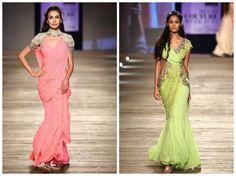 Monisha jaisingh's sari gown