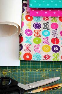 Bar-borka: Návod - obal na tablet I. / Tablet (i-pad) cover sewing tutorial, part I.