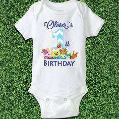 Hey, I found this really awesome Etsy listing at https://www.etsy.com/listing/490618317/babyfirst-tv-babys-first-birthday-shirt