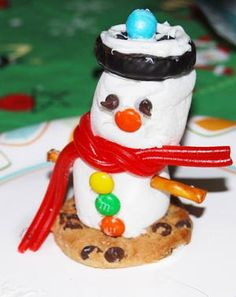 If your son or daughter has a winter birthday, consider organizing these winter crafts for kids at the party. This Fun Marshmallow Snowman Craft is practically picture-perfect, and the kids will be so proud of their creations.