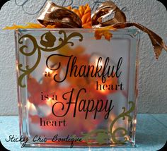 Thanksgiving centerpiece by StickyChicBoutique