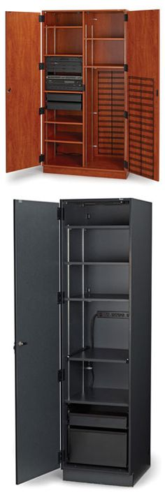The Fixed Media Storage By Wenger Are Customizable Cabinets Designed Especially For And Audio