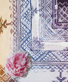 Multicolour Sunset Romance Print Silk Scarf, Athena Procopiou.  collection online at Liberty.co.uk