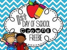 If you make their first day unforgettablethey will want to come back! You can do that with this set of crowns. It will be the perfect project to get your students actively engaged and excited about school. This download includes crowns for preschool, pre-k, kindergarten, 1st grade and 2nd grade.