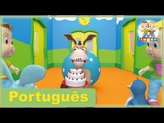 Os Sentidos (O que faço) | Canções Creche Pré-Escolar | BBtwins | Vídeos HD | Português - YouTube Music For Kids, Diy For Kids, Musicals, Dinosaur Stuffed Animal, Family Guy, Videos, Toys, Youtube, Animals