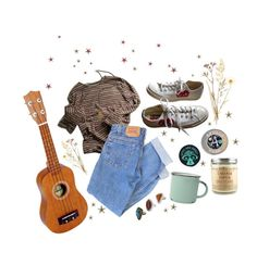 """brown eyed girl"" by idaelinas on Polyvore featuring Levi's, Converse, canvas, Topshop, French Kande, vintage, casual, Hipster, denim and alternative"
