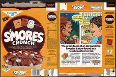 General Mills - Smores Crunch Cereal Box - 1984 by JasonLiebig, via Flickr