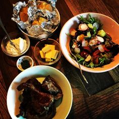 When it comes to pre Christmas eating it is nice to sit back and enjoy some relaxing style meals. And you can never beat a classic BBQ with outstanding produce such as @benviewfarms lamb chops to do the job. X #daisydining #daylesford #catering #daylesfordcatering #bespokecatering #bespoke #traditionalcooking #localproduce  #benviewfarms #bbq #chops #lamb #salad #potato #cook #cooking #food #foodstyling #foodpics #foodpresentation #relaxed #relaxingdinner #lifestyle #daisylove #daisystyle