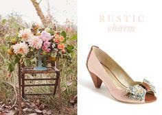 Florals by Lemon Blossom Designs shot by Jaclyn Davis via Ruffled // Seychelles 'Mixed Emotion' Pump