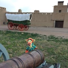 {Anyone know why my picture does not show up?} Click to enlarge image Bent's Old Fort National Historic Site La Junta, Colorado - Castle of the Plains. One of the last pictures of Tigger before his visit was cut tragically short! #BentsFort #NationalPark #BentsOldFort #Colorado #TiggerTravels #TiggerTravelsSite #TiggerTravelsDotCom #TiggersTravels