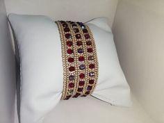 Bead Loom Bracelets, Beaded Jewelry Patterns, Bracelet Tutorial, Jewelry Making Beads, Beading Tutorials, Loom Beading, Handmade Bracelets, Seed Beads, Beaded Bracelets