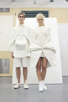 White Show 2013   Fashion, White Show   1 Granary1 Granary   By the Students of Central Saint Martins