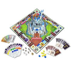 Product Image of Disney Theme Park Edition III Monopoly® Game # 1 Disney Games, Disney Theme, Disney Ideas, Mickey Mouse Club, Disney Mickey Mouse, Resort Logo, Monopoly Game, Dog Pajamas, Disney Sketches