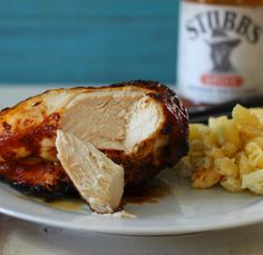 The Best #BBQ #Chicken ever - made with Stubb's spicy