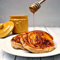 Peach and Sour Cream Pancakes