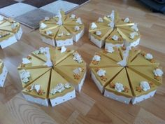 Anna's golden wedding anniversary cake table entre pieces.