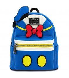 6fe3112273772 Loungefly x Donald Duck Cosplay Faux Leather Mini Backpack Mini Mochila,  Sacos De Mochila,
