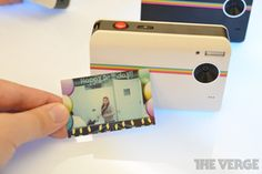 Throw back! this would be fun to have at parties!Polaroid Z2300 Instant Digital Camera coming August 15th (hands-on)   The Verge