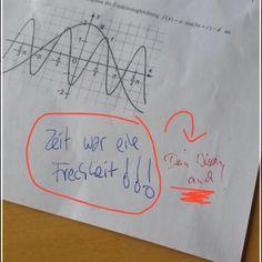 Und natürlich der Schüler, der es seinem Lehrer so richtig geben wollte.