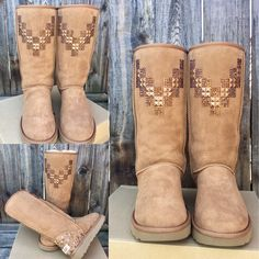 25dd50b21f7 26 Best Crystal UGG Australia & Boots by Glass Slippers images in ...