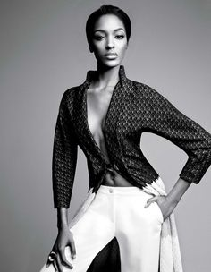 Jourdan Dunn & Joan Smalls In 'Spare Me' By Patrick Demarchelier For W Magazine February 2014 - 0- News for Women, Fashion & Style, Women's ...