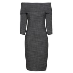 claire underwood -- Borishade London The Grey Classic Events Dress