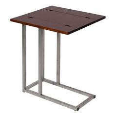 Side Table Laptop Bedside Swivel Table Steelwood Design