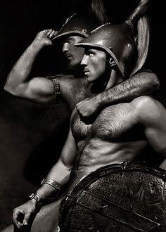 """Heroics I by Paul Freeman ; )  """" I Love Sparta """""""