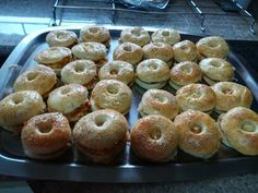 Chicken & Cheese Bagels recipe by Naseema Khan (zulfis) posted on 25 Jan 2018 . Recipe has a rating of by 1 members and the recipe belongs in the Savouries, Sauces, Ramadhaan, Eid recipes category Cheese Bagels, Eid Food, Clarified Butter Ghee, Food Categories, Doughnut, Real Food Recipes, Sandwiches, Chicken